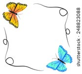 Spring Butterfly And Winter...