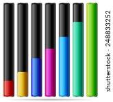 vertical bars  level process...