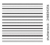 underlines. simple zigzag lines.... | Shutterstock .eps vector #248834356