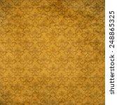 gold ornament flower vintage... | Shutterstock . vector #248865325