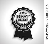 best seller icon with long... | Shutterstock .eps vector #248888416