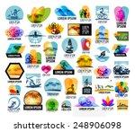 travel vector logo design...