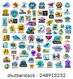 sport vector logo design... | Shutterstock .eps vector #248913232