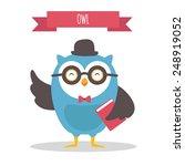 owl | Shutterstock .eps vector #248919052