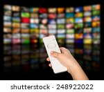 lcd tv panels. television... | Shutterstock . vector #248922022