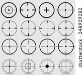 Set Of Different Sights On A...