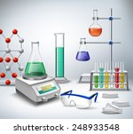 science chemical and medical... | Shutterstock .eps vector #248933548