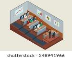 university class auditory...   Shutterstock .eps vector #248941966