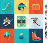 hockey sport icons