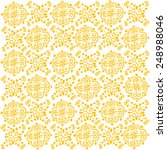 hand drawn heart pattern in... | Shutterstock .eps vector #248988046