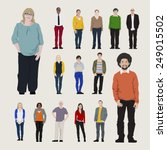 vector of people | Shutterstock .eps vector #249015502