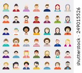 vector of people | Shutterstock .eps vector #249015526