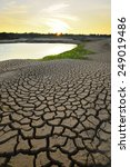 drought land so long waterless | Shutterstock . vector #249019486