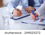 group of business people... | Shutterstock . vector #249025372