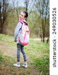 portrait of beauty pre teen... | Shutterstock . vector #249030526