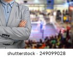 promoter or manager of boxing... | Shutterstock . vector #249099028