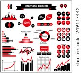 it infographic elements. can be ... | Shutterstock .eps vector #249117442