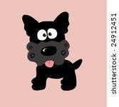 black curly yorkie vector | Shutterstock .eps vector #24912451
