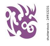 vector design tribal tattoo | Shutterstock .eps vector #24913231