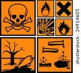 Symbols Of Hazard Present On...