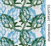 vector hand drawn illustration... | Shutterstock .eps vector #249149752