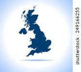 united kingdom | Shutterstock .eps vector #249166255