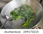 sauteing or stir frying the... | Shutterstock . vector #249173215