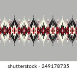 tribal seamless colorful... | Shutterstock .eps vector #249178735