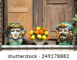 Typical Ceramic Vases And...