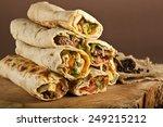 turkish shawarma durum...