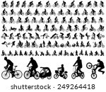106 High Quality Bicyclists...