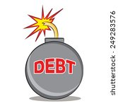 an image representing debt that ...