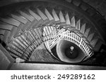 Staircase Of A Bell Tower That...