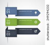 modern minimal arrow... | Shutterstock .eps vector #249294232