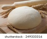 fresh dough on the table. | Shutterstock . vector #249333316