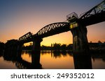 bridge over the river kwai in...