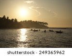 morning fishing on the sea | Shutterstock . vector #249365962