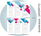 brochure design template... | Shutterstock .eps vector #249399772