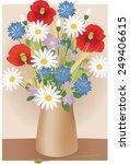 wildflowers | Shutterstock .eps vector #249406615