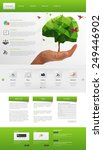 eco modern website template....