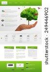 eco modern website template....