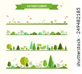 trendy and beautiful set of... | Shutterstock .eps vector #249482185