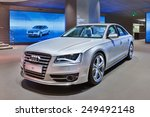 Beijing April 16  2013. Audi S8 ...
