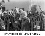 prisoners in the concentration... | Shutterstock . vector #249572512