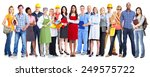 group of workers people.... | Shutterstock . vector #249575722