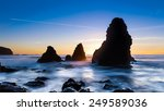 sunset at rodeo beach in marin  ... | Shutterstock . vector #249589036