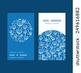 vector blue white lineart...   Shutterstock .eps vector #249616882
