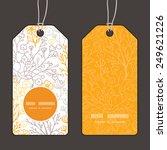 vector magical floral vertical... | Shutterstock .eps vector #249621226