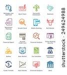 personal   business finance... | Shutterstock .eps vector #249624988