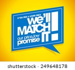 if you find a lower price we... | Shutterstock .eps vector #249648178